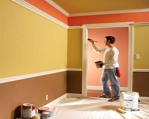 Ремонт в квартире своими руками покрасить стены